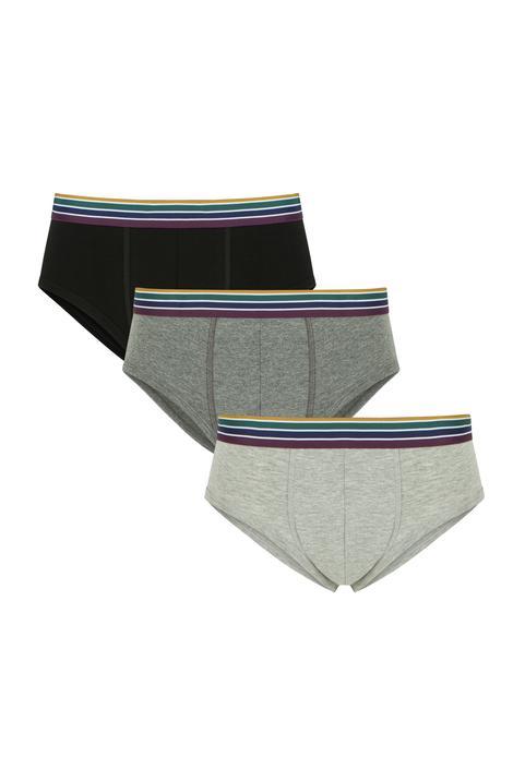 Boxeri Striped Mıd 3Buc.