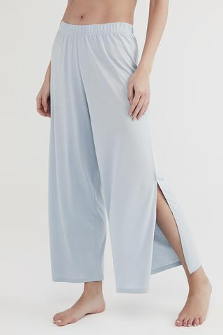 Blue Flare Pant