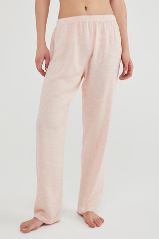 Pantaloni Pink Floral