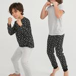 Set Pijama Boys Wild One 4 Buc