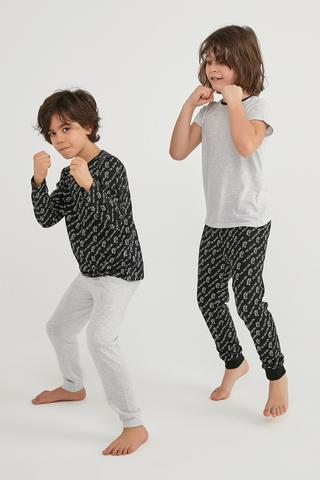 Set Pijama Boys Wild One 4 Buc
