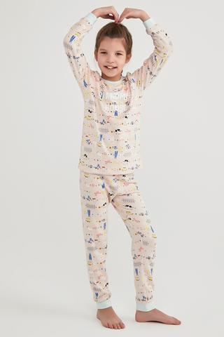 """Set Pijama Girls Gradma""""s House Termal"""