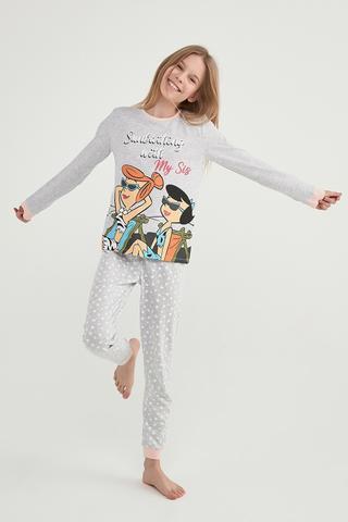 Set Pijama Teen Flonstone