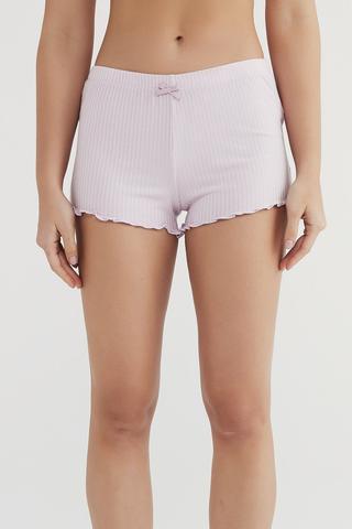 Pantaloni Scurți Lilac Love