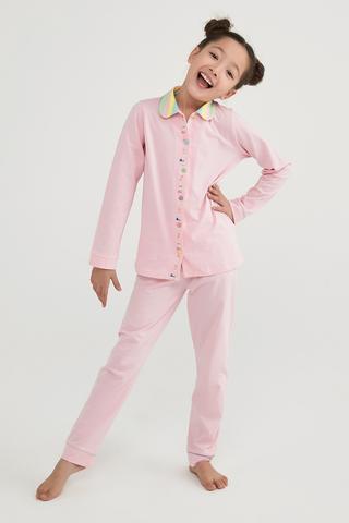 Set Pijama Fetițe Joy Color