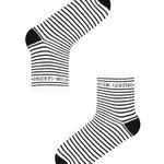 Set Șosete Lungi Slogan Stripe