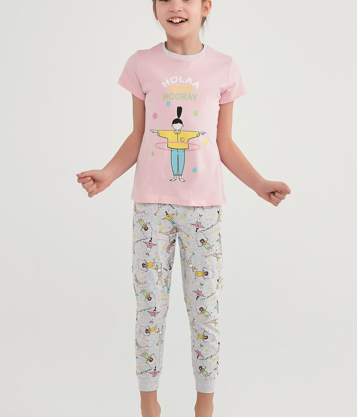 Set Pijama Fetițe Hoolahoop 4 Buc