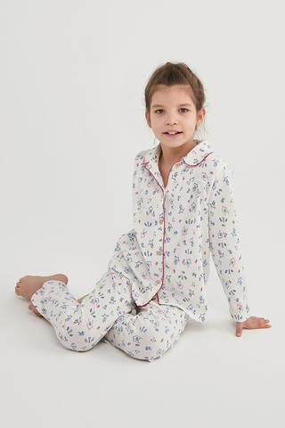 Set Pijama Fetițe Summer Garden