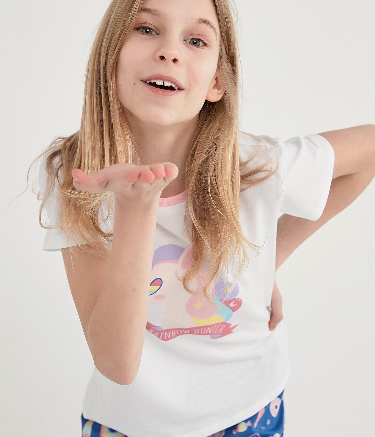 Set Pijama Teen Unicorn