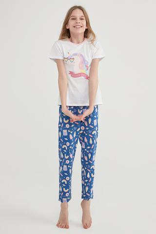 Set Pijama Teen Unicorn