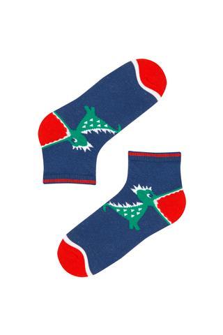 Boy Dino Liner Socks