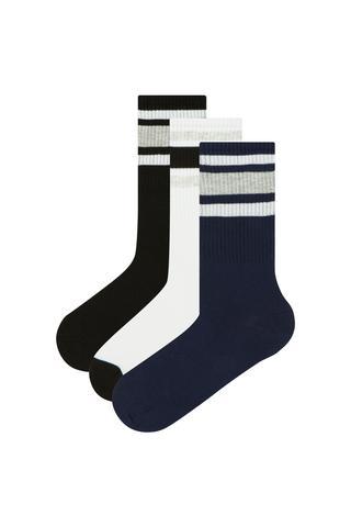 Men Cool 3In1 Socks