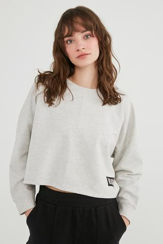 Bu4U Crop Sweatshirt
