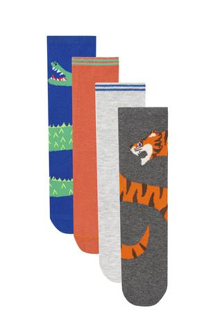 Boy Safari 4In1 Socks