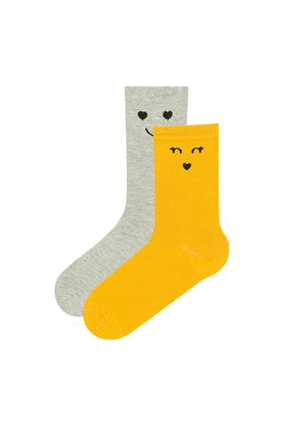 Smiling 2In1 Socks