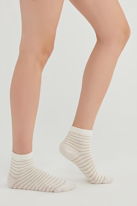 Șosete Lungi Shiny Stripe 2 Buc