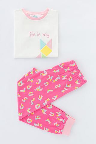 Set Pijama Girls Tangram