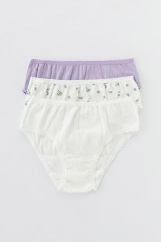 Girls Farm Style Poıntel 3In1 Slip Bottom