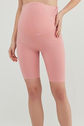 Pantaloni Scurți Mama Pink Biker