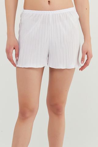 Brıdal Pleat Pantalonı Scurțı