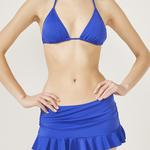 Basic Skirtkini Bikini Bottom