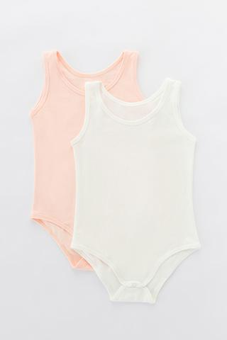 Girls Basic 2In1 Bodysuit
