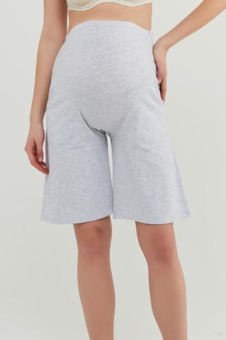Mama Gray Long Pantalon Scurt