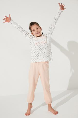 Girls Farm Style  2In1 Pj Set