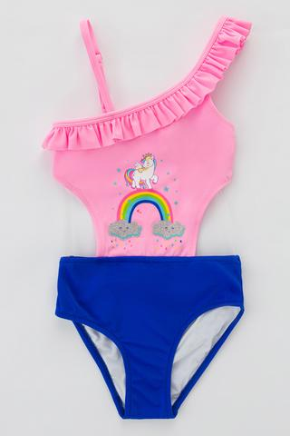 Costume Baie Întregi Feti?e Rainbow Cloud