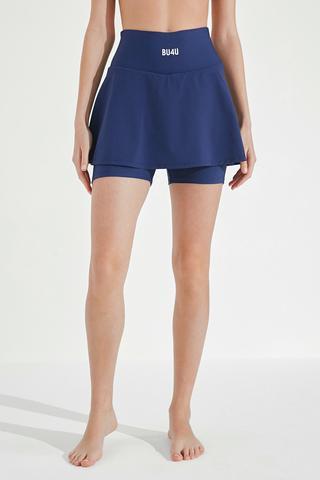 Pantalon Scurt Bu4U Skirt With inner