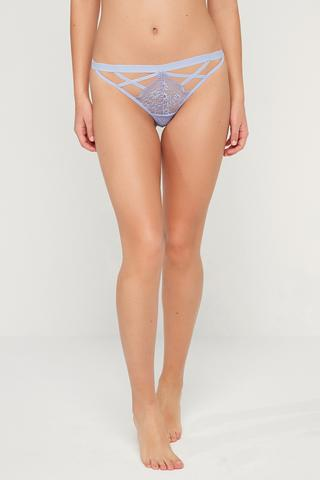 Strappy Lace String Bottom