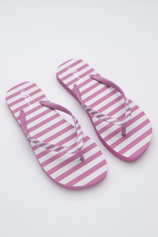 Papuci Basic Stripe