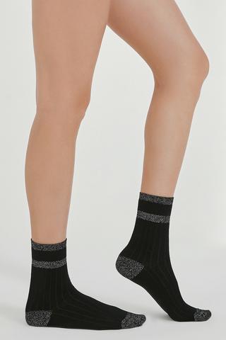 Color Shiny Socks