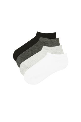 Boys Basic 4In1 Liner Socks