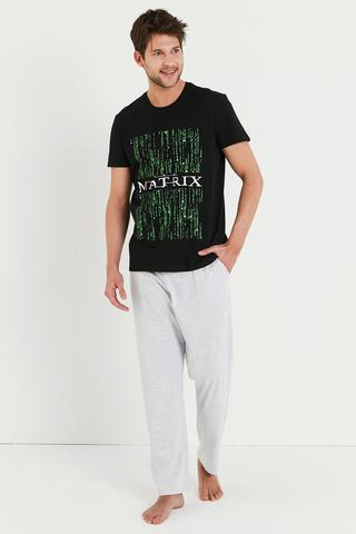 Set Pijama Lic Matrix Code