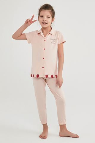 Girls Strawberry Fields 2In1 Shirt Set