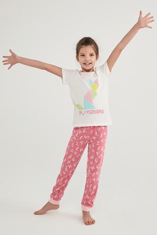 Girls Hopscotch 2In1 PJ Set