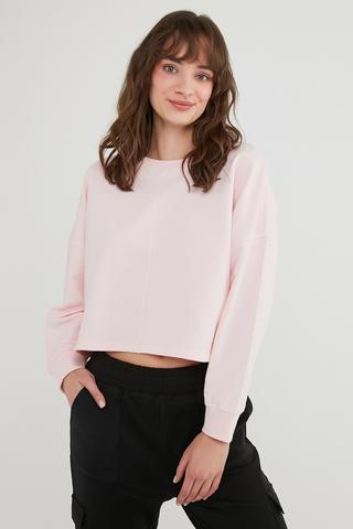 Bu4U Crop Sweatshirt
