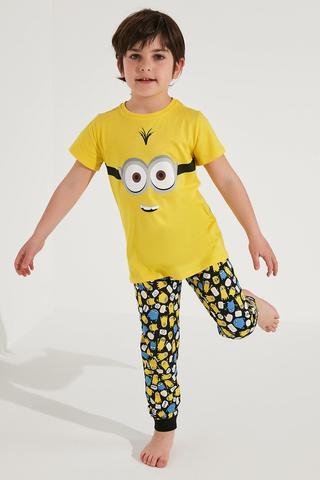 Set Pijama Băieți Lic Minions