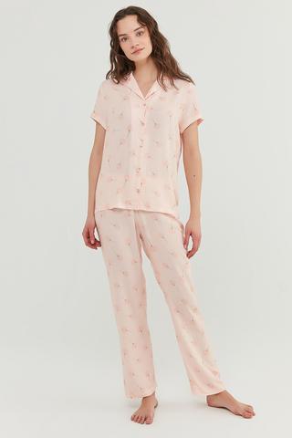 Set Pijama ixia Flowers