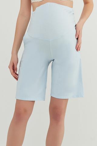 Mama Blue Long Pantalon Scurt