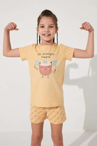 Set Pijamale Fetite Veg-t Tomoto 2Buc
