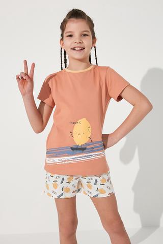 Set Pijamale Fetite  Veg-t Vitamin 2Buc