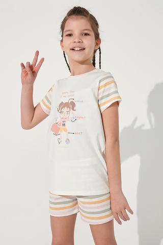 Set Pijamale Fetite Veg-t Healthy 2Buc