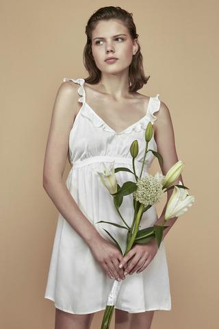 Bridal Elegance Satin Rochie