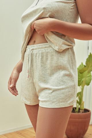 Pantaloni Scurți Melange