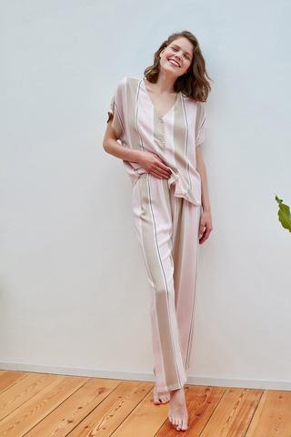 Set Pijama Soft Stripes