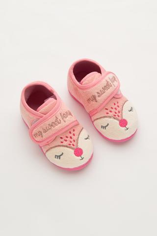 Șosete Scurte Fetițe Pink Fox