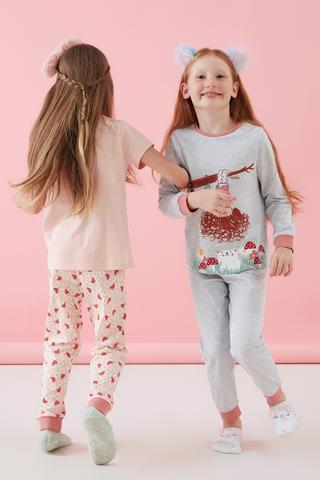 Girls Daisy 4 Buc Set Pijama