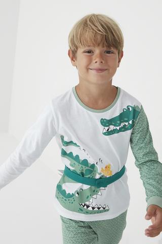 Boys Croco Set Pijama
